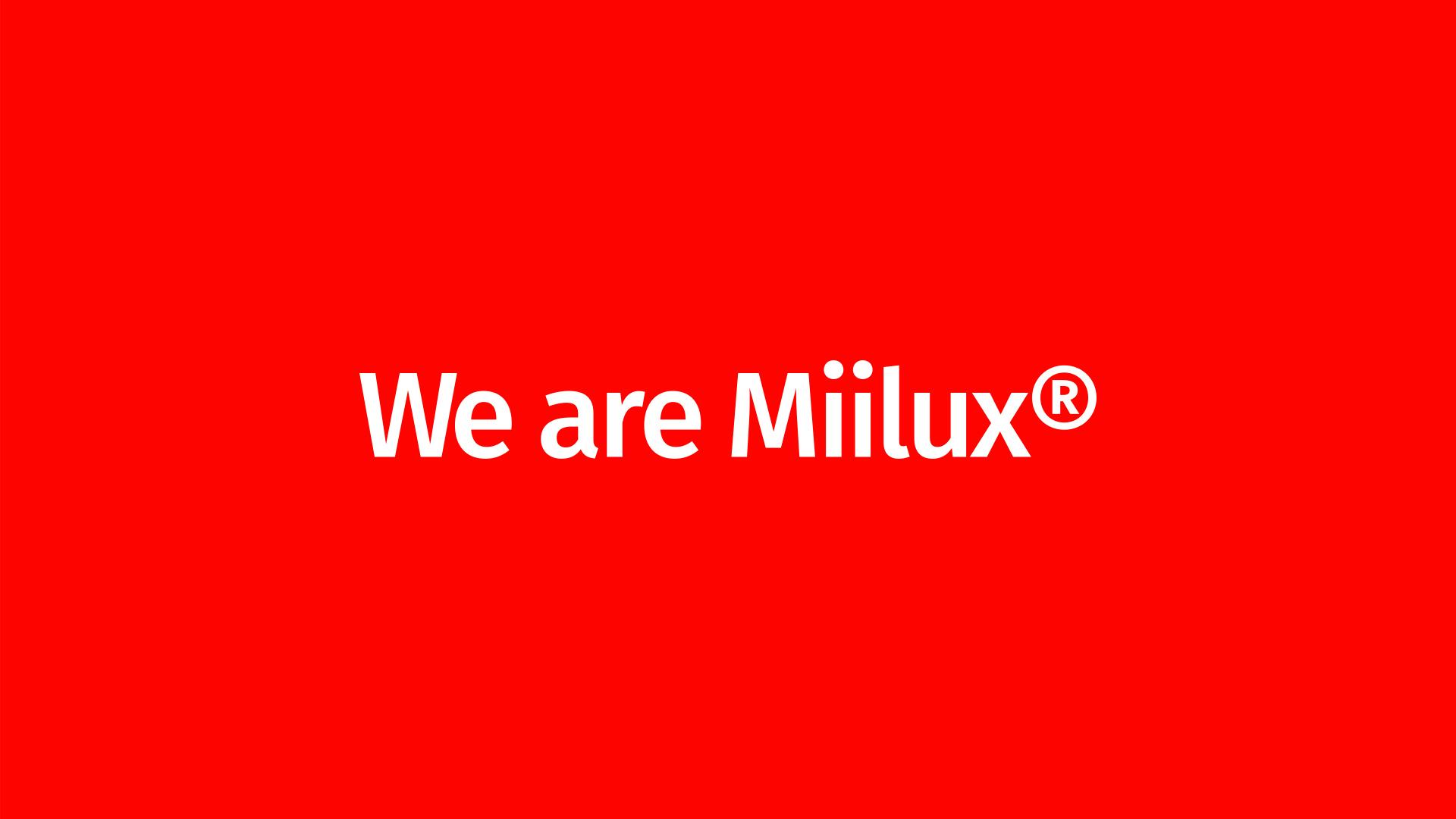 We are Miilux tuo esiin ihmisiä Miiluxin takaa
